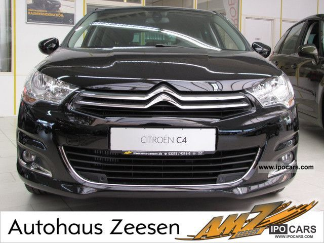 2012 citroen c4 thp 155 exclusive egs6 navigation sitzheizung car photo and specs. Black Bedroom Furniture Sets. Home Design Ideas