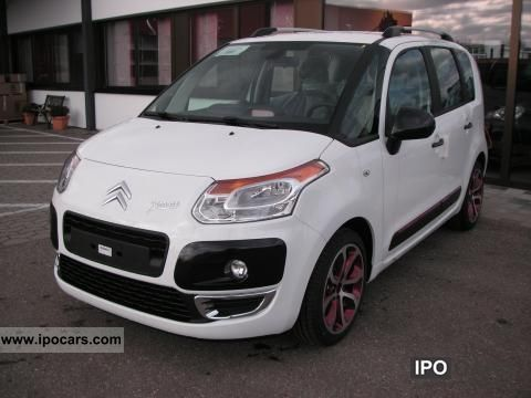 2012 Citroen  C3 Picasso HDi110 Coloer Selection Van / Minibus Pre-Registration photo
