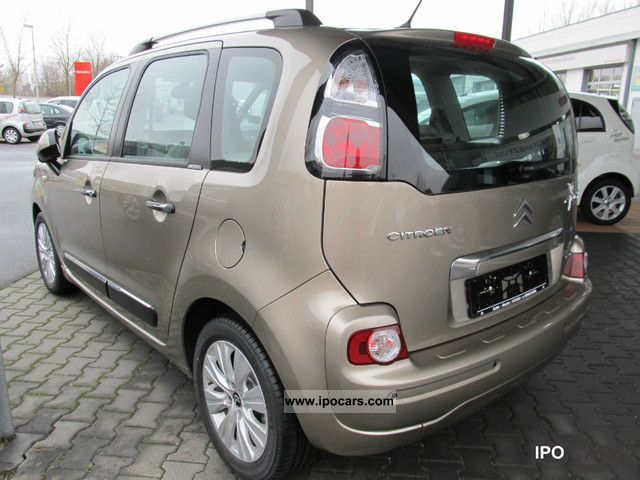 2012 citroen c3 picasso e hdi 90 fap egs6 exclusive car photo and specs. Black Bedroom Furniture Sets. Home Design Ideas