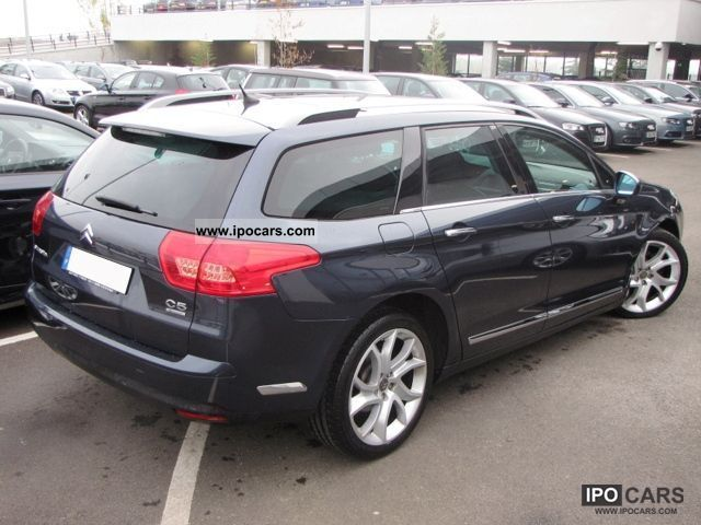 2008 citroen c5 tourer 2 7 v6 hdi 208 ii fap exclusive car photo and specs. Black Bedroom Furniture Sets. Home Design Ideas
