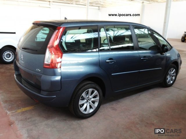 2012 citroen c4 gr picasso 1 6 hdi 110 fap seduction car photo and specs. Black Bedroom Furniture Sets. Home Design Ideas