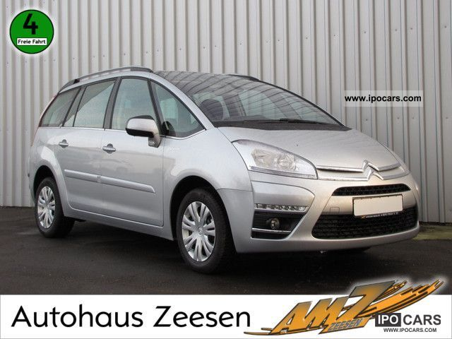2012 citroen grand c4 picasso ehdi pdc 110 selection car photo and specs. Black Bedroom Furniture Sets. Home Design Ideas