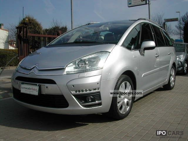 2011 citroen c4 gr picasso 1 6 hdi 110 fap exclusive navi xe car photo and specs. Black Bedroom Furniture Sets. Home Design Ideas
