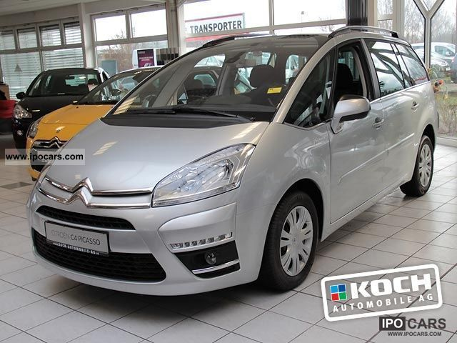2012 citroen c4 grand picasso egs tendance thp 155 air car photo and specs. Black Bedroom Furniture Sets. Home Design Ideas