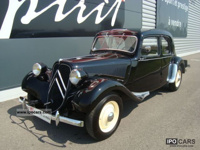 Citroen  Traction 11BL 1949 Vintage, Classic and Old Cars photo