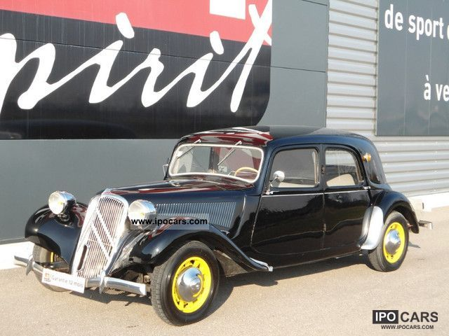 Citroen  Traction 11B 1950 Vintage, Classic and Old Cars photo