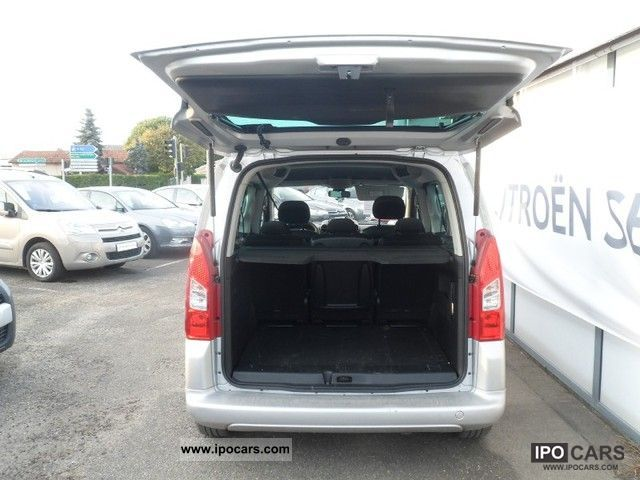2011 citroen berlingo multispace ii 1 6 hdi92 pack 5p car photo and specs. Black Bedroom Furniture Sets. Home Design Ideas