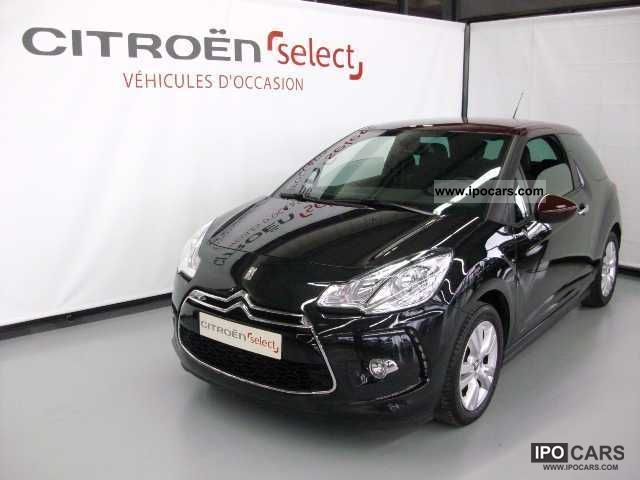 2011 citroen hdi 90 fap ds3 airdream so chic car photo. Black Bedroom Furniture Sets. Home Design Ideas