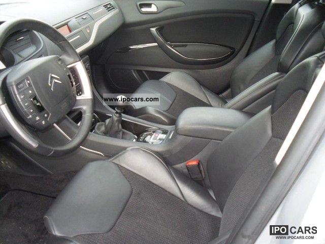 2010 citroen c5 ii 2 0 hdi140 fap exclusive car photo and specs. Black Bedroom Furniture Sets. Home Design Ideas