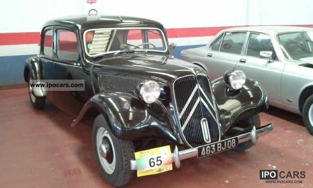 Citroen  Traction Avant Citroen PASSO LUNGO EPOCA BRESCIA 1956 Vintage, Classic and Old Cars photo