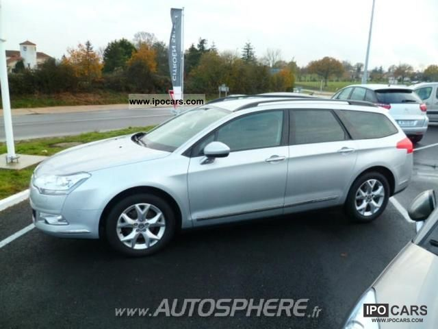 2009 citroen c5 tourer 1 6 hdi110 fap airdream dynam car photo and specs. Black Bedroom Furniture Sets. Home Design Ideas