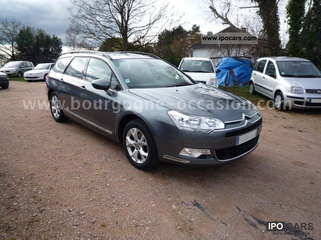 2010 citroen c5 tourer hdi 140 fap dynamique car photo and specs. Black Bedroom Furniture Sets. Home Design Ideas