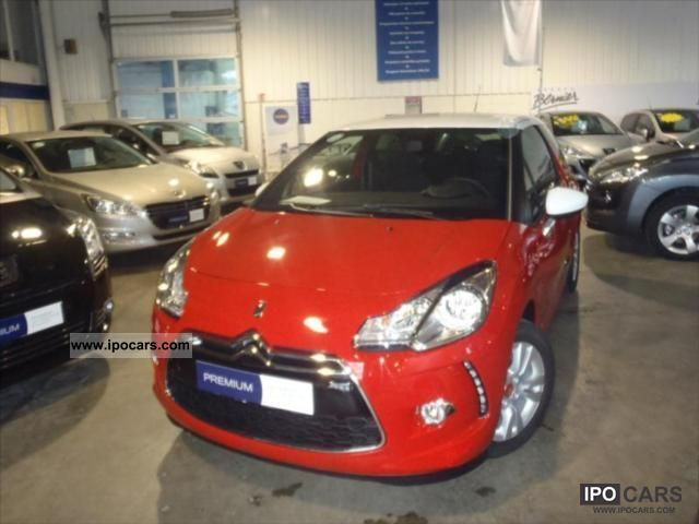 2012 Citroen  DS3 1.6 HDi90 (92) FAP So Chic Sports car/Coupe Used vehicle photo