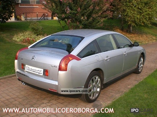 2007 citroen c6 2 7 v6 hdi 24v t b exclusive car photo and specs. Black Bedroom Furniture Sets. Home Design Ideas