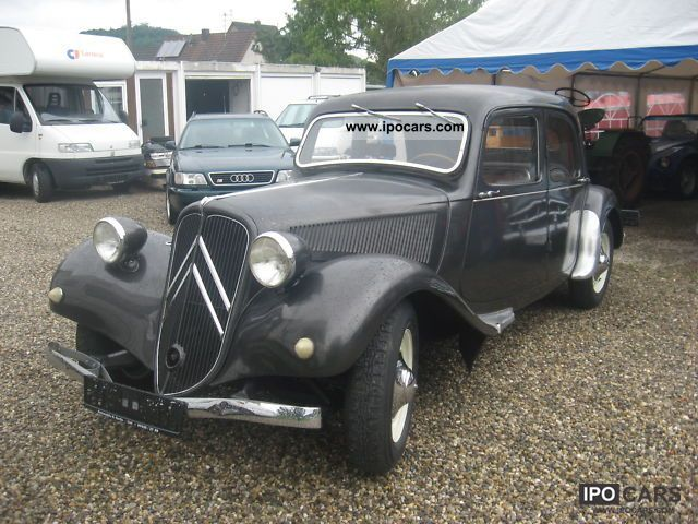 1947 Citroen  11 BL Originalzust. Ungeschw.neue 30tkm + H perm Limousine Used vehicle photo