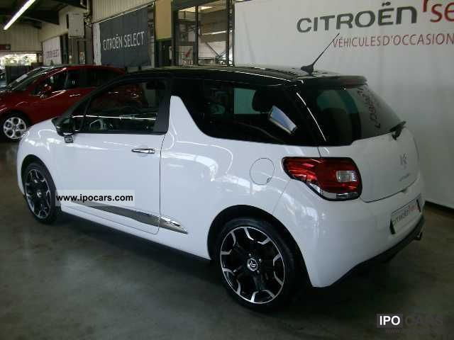 2010 citroen ds3 hdi 110 fap sport chic airdream car. Black Bedroom Furniture Sets. Home Design Ideas