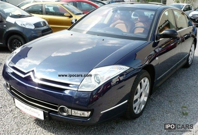 2008 citroen c6 v6 hdi 205 auto excl car photo and specs. Black Bedroom Furniture Sets. Home Design Ideas