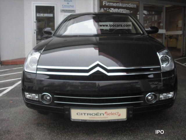2008 Citroen C6 2 7v6 Turbo Hdi Exclusive Car Photo And Specs
