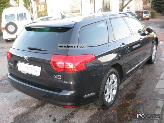 2010 citroen c5 tourer exclusive hdi 140 xenon elktr klappe car photo and specs. Black Bedroom Furniture Sets. Home Design Ideas