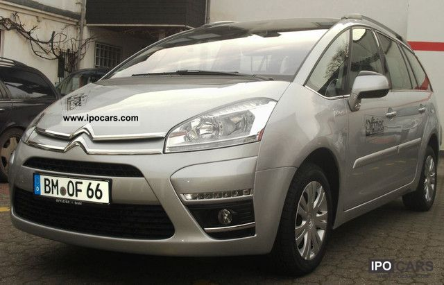 2012 citroen grand c4 picasso car photo and specs. Black Bedroom Furniture Sets. Home Design Ideas