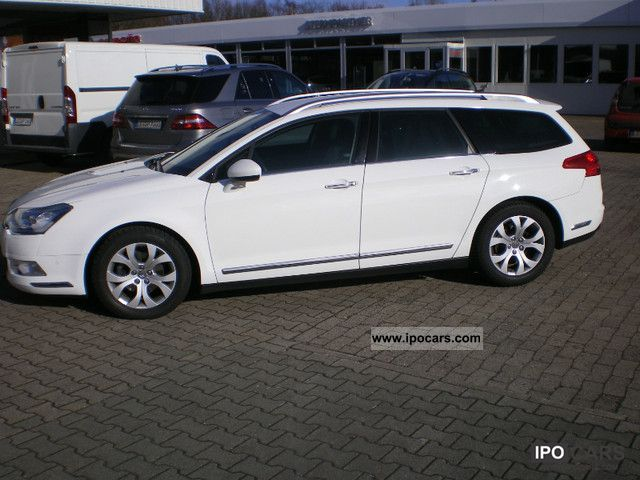 2009 citroen c5 tourer 2 0 16v aut exclusive navi lpg car photo and specs. Black Bedroom Furniture Sets. Home Design Ideas