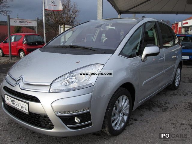 2012 citroen c4 picasso 1 6 hdi fap tendanc car photo and specs. Black Bedroom Furniture Sets. Home Design Ideas