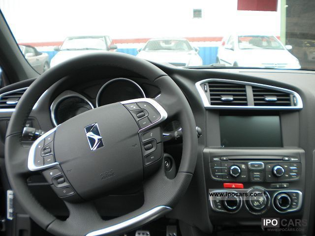 2012 Citroen Ds4 16 Hdi Fap So Chic Car Photo And Specs