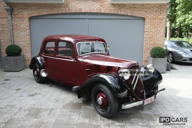 Citroen  Traction 7C - rebuilt engine - Moteur refait 1936 Vintage, Classic and Old Cars photo
