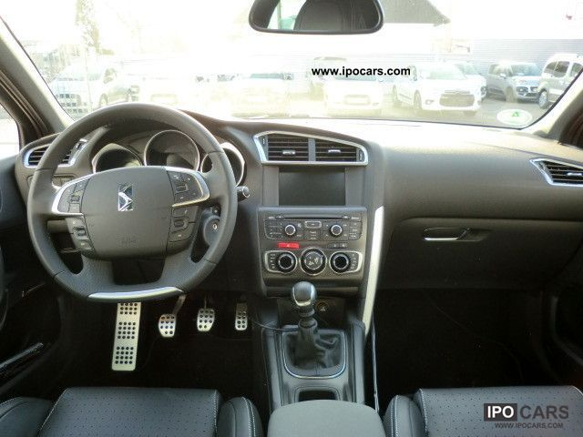 2012 Citroen Ds4 1 6 Hdi 110 Dpfs Sochic Car Photo And Specs