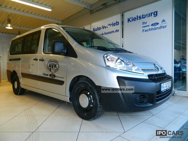 2012 Citroen  Jumpy Combi HDi 125 L2 9-seater Van / Minibus Demonstration Vehicle photo
