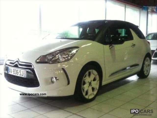 2012 citroen ds3 sport chic 1 6hdi bvm6 110 options car photo and specs. Black Bedroom Furniture Sets. Home Design Ideas