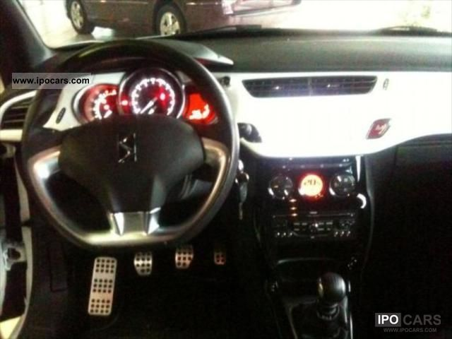 2012 citroen ds3 sport chic 1 6hdi bvm6 110   options