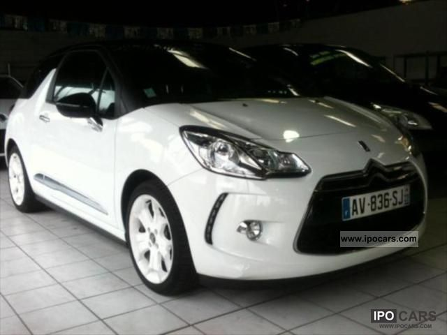 2012 citroen ds3 sport chic 1 6hdi bvm6 110 options. Black Bedroom Furniture Sets. Home Design Ideas