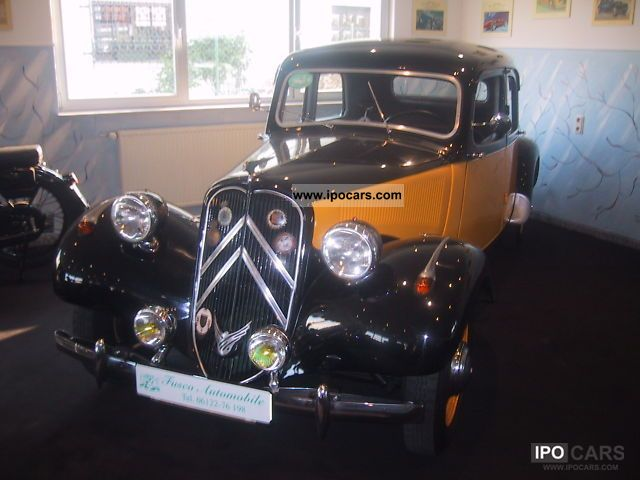 Citroen  11 CV Restored 1953 Vintage, Classic and Old Cars photo