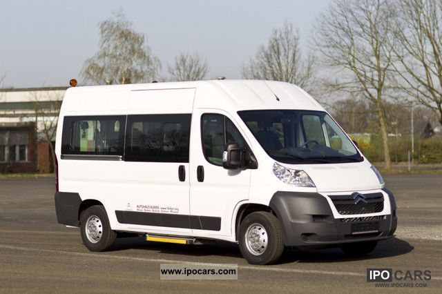 2011 Citroen  Jumper L2H2 HDI 120 33 Wheelchair Conversion Van / Minibus Demonstration Vehicle photo