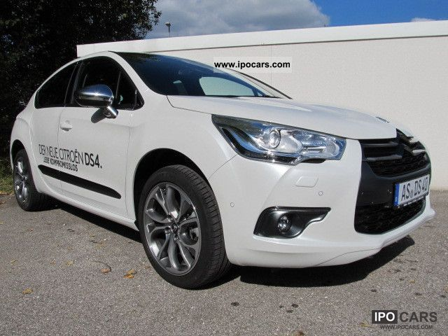 2012 citroen ds4 thp 200 sport chic car photo and specs. Black Bedroom Furniture Sets. Home Design Ideas