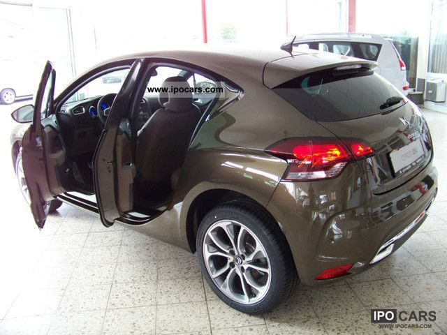 2012 citroen ds4 hdi 165 sport chic car photo and specs. Black Bedroom Furniture Sets. Home Design Ideas