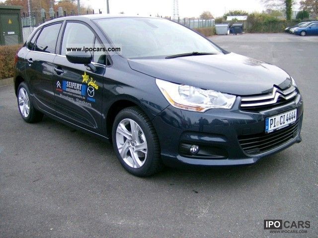 2011 citroen c4 hdi 110 new e egs6 tendance car photo and specs. Black Bedroom Furniture Sets. Home Design Ideas