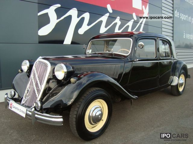 1953 Citroen  Traction 15/6 Limousine Used vehicle photo