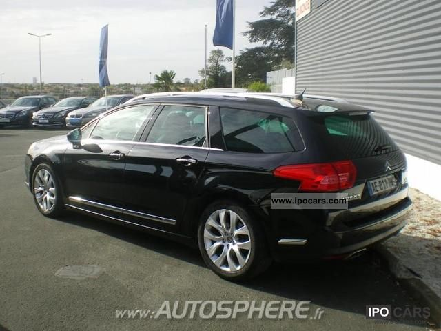 2009 citroen c5 tourer 3 0 hdi v6 exclusive car photo and specs. Black Bedroom Furniture Sets. Home Design Ideas