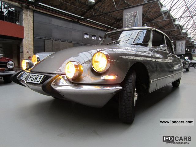 Citroen  DS 19 Pallas, Pallas first year 1964 Vintage, Classic and Old Cars photo