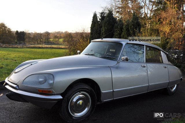 Citroen  DS 23 Pallas, semi-automatic, leather, head restraints 1974 Vintage, Classic and Old Cars photo