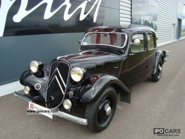 Citroen  Traction 7C 1936 Vintage, Classic and Old Cars photo
