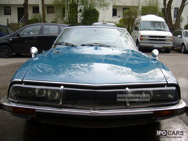 Citroen  SM Injection Dt. Model 1975 Vintage, Classic and Old Cars photo