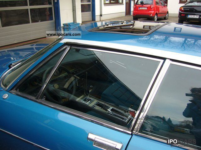 1975 citroen sm injection dt  model