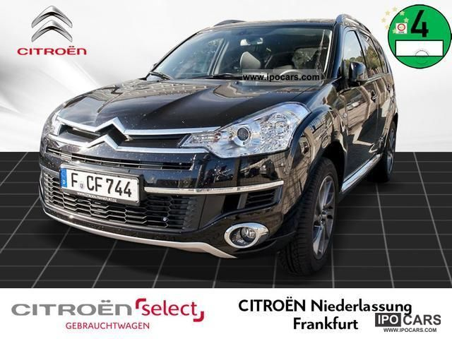 2011 Citroen  C-Crosser Exclusive HDI 155 DCS Navi Parkhilfe DP Off-road Vehicle/Pickup Truck Demonstration Vehicle photo