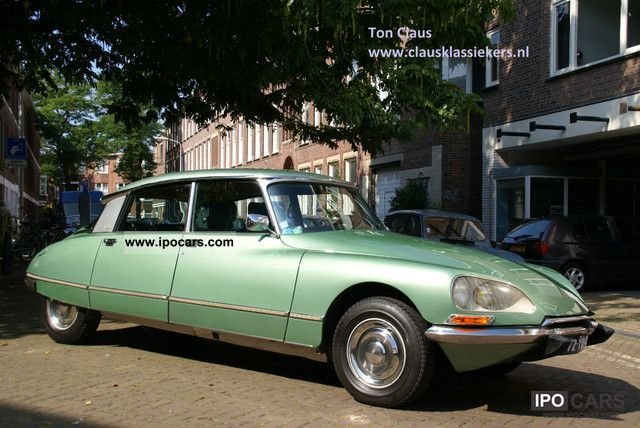 Citroen  DS 23 Pallas Injection Electronique 1974 Vintage, Classic and Old Cars photo