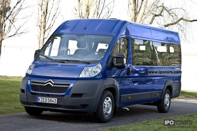 2012 Citroen  Jumper L4H2 HDi 155 FAP minibus 40 17-seater Van / Minibus Demonstration Vehicle photo