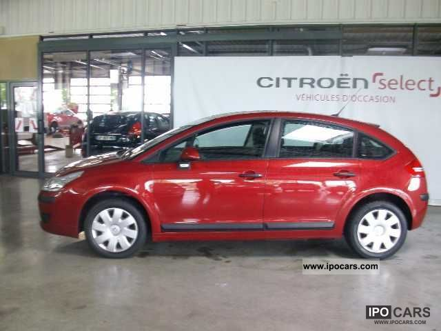 2009 citroen c4 hdi 92 airdream pack ambiance car photo and specs. Black Bedroom Furniture Sets. Home Design Ideas