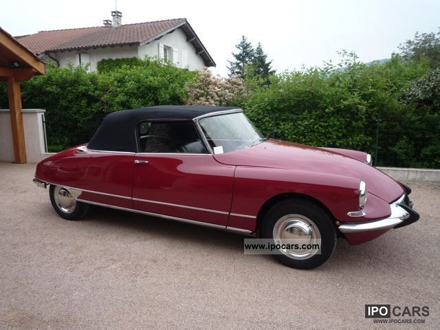 Citroen  DS convertible original 1963 Vintage, Classic and Old Cars photo